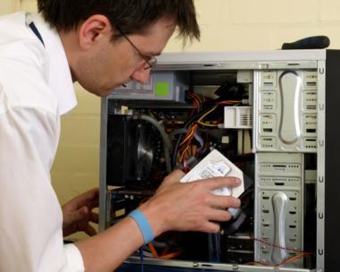 desktop computer repair - replacing harddrive